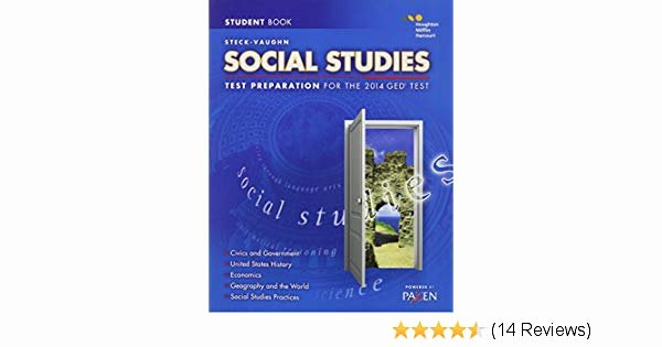Harcourt social Studies World History Steck Vaughn Ged Test Preparation Student Edition social