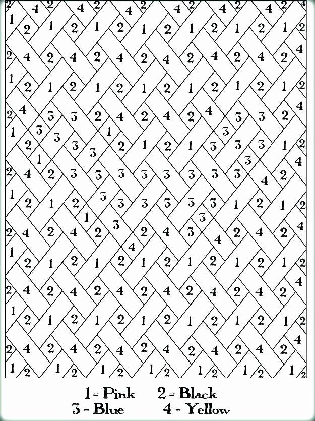 Hard Color by Number Worksheets Color by Number Princess – Shopleatherworks
