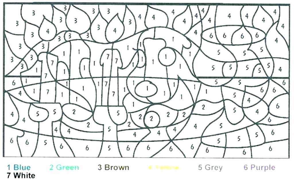 Hard Color by Number Worksheets Extreme Coloring Pages – Healthwarehouse