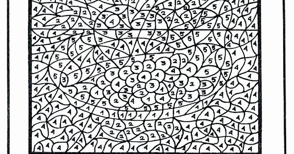 Hard Color by Number Worksheets Extreme Coloring Pages – thefrangipanitree