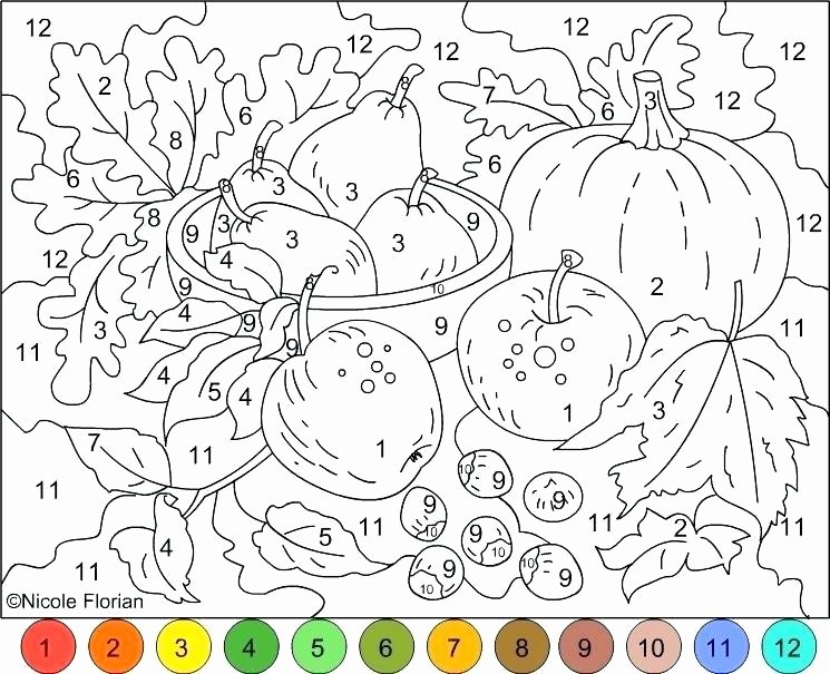 Hard Color by Number Worksheets Hard Color by Number Coloring Pages – Cremzemp