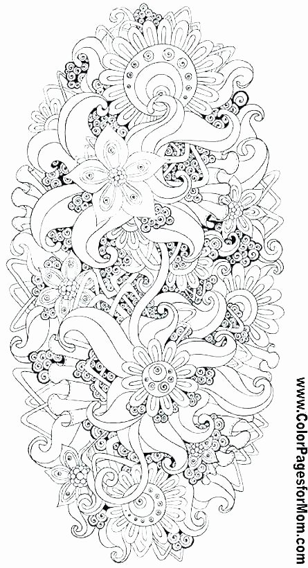 Hard Color by Number Worksheets Outstanding Adult Color by Number Pages Pattern Trending