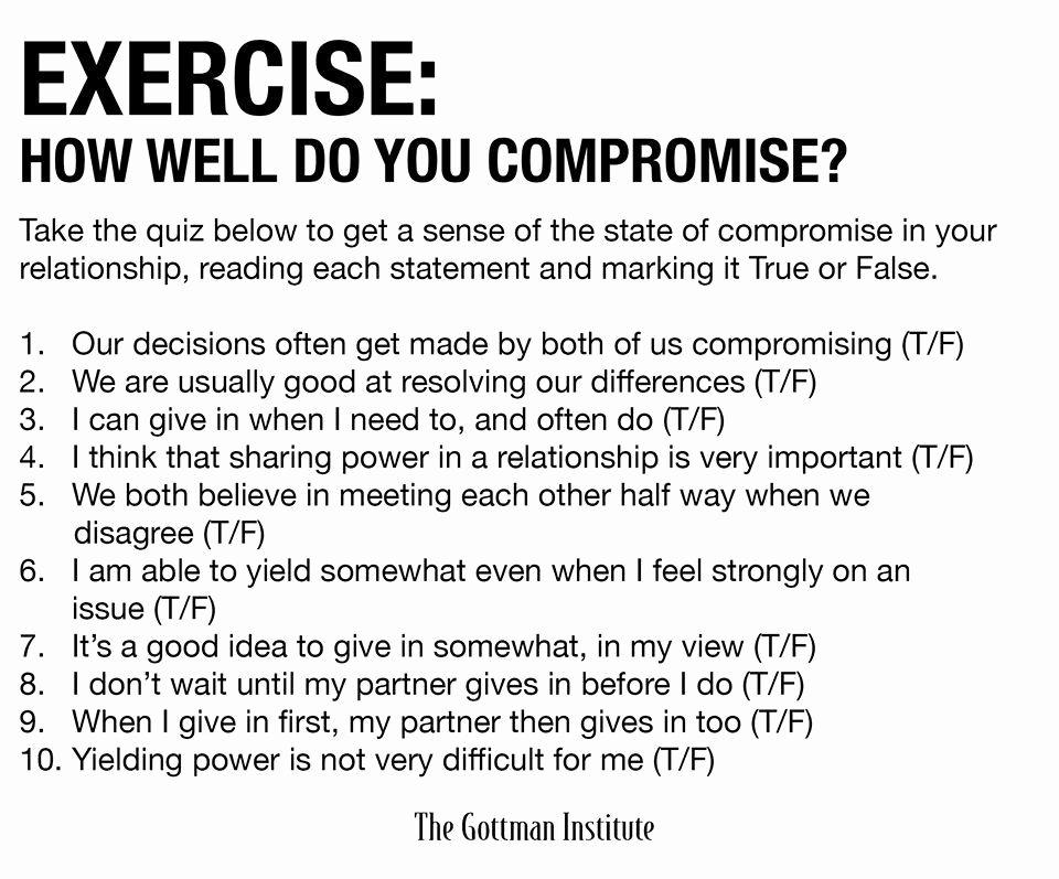 Healthy Family Relationships Worksheets Gottman Promise Exercise Gottman