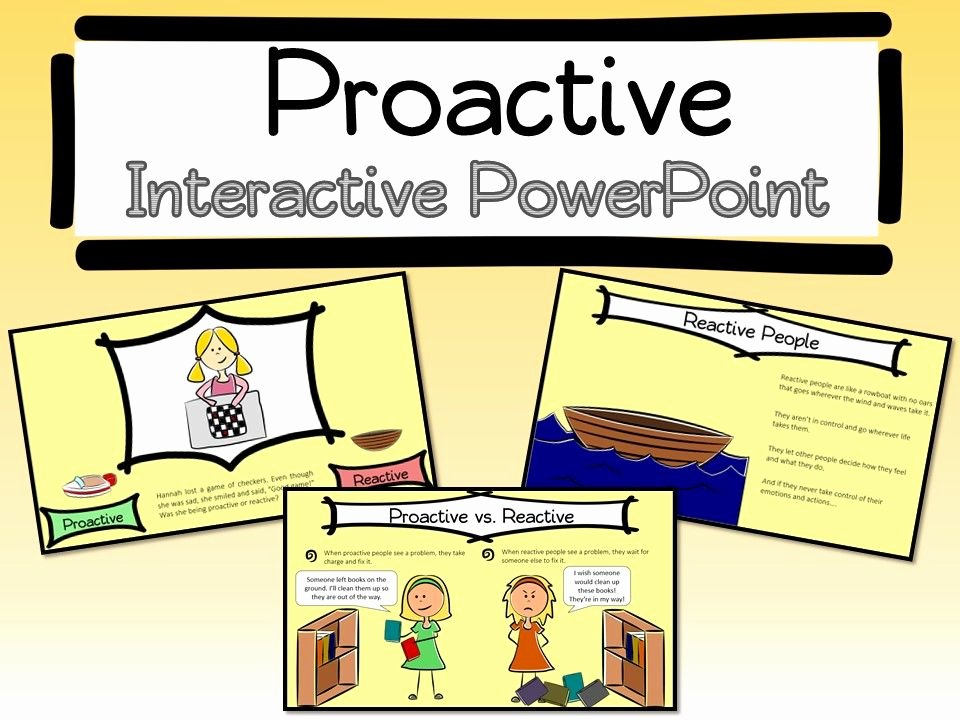 Healthy Habits for Kids Worksheets Be Proactive Interactive Powerpoint and Worksheet Goes