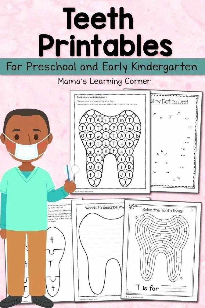 Healthy Habits for Kids Worksheets Letter sound association Worksheets