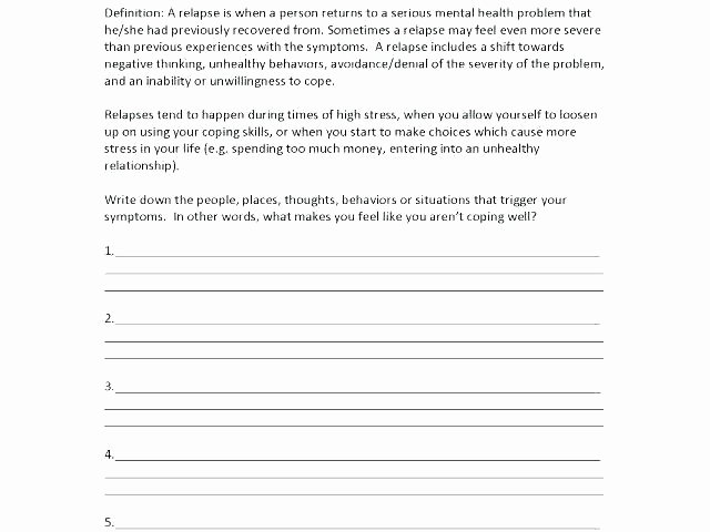 Healthy Relationships Worksheets Picture Behavior Think Sheets Education Studio Free