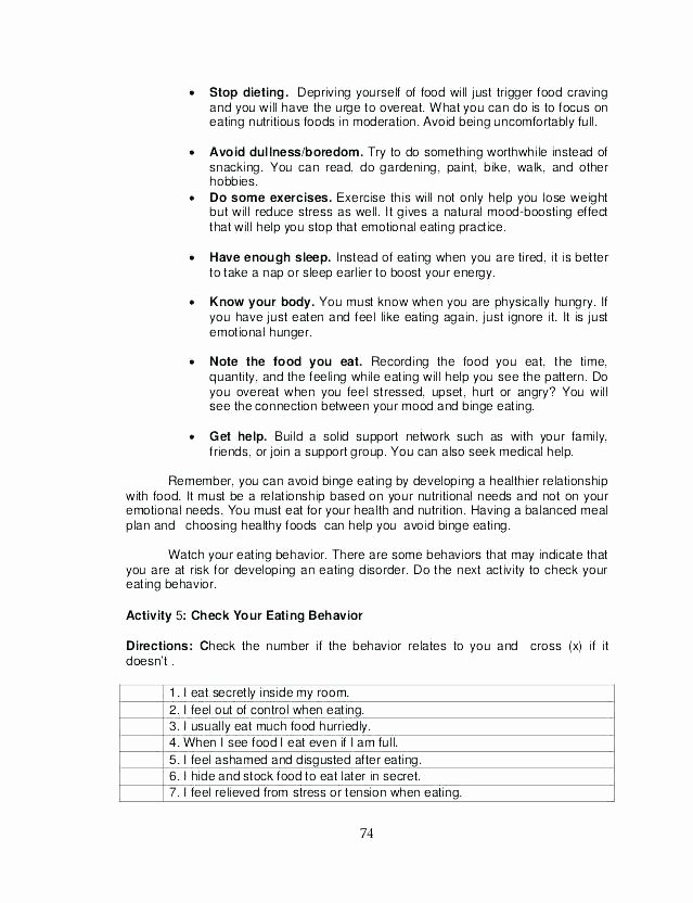 Healthy Relationships Worksheets Staying Healthy Worksheets