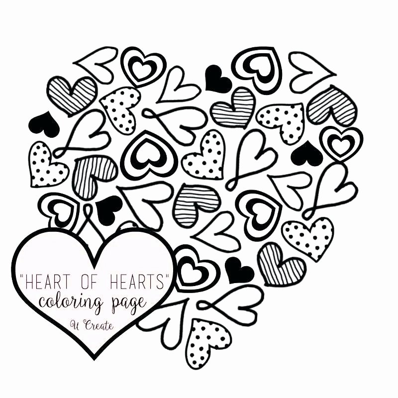 Heart Coloring Worksheet Coloring Pages Of Heart Designs – Musicplanetfo