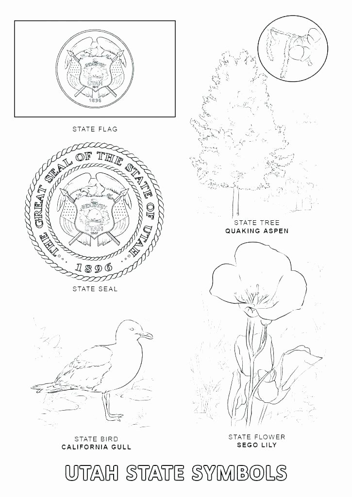 Heart Coloring Worksheet Coloring Pages Page State Symbols Us Army Flag Heart C Usa