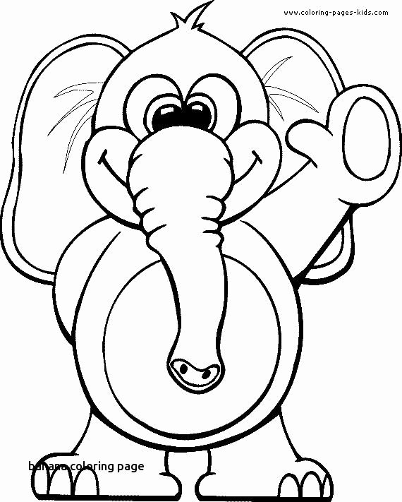 Heart Coloring Worksheet New Monkey and Banana Coloring Page – Nicho