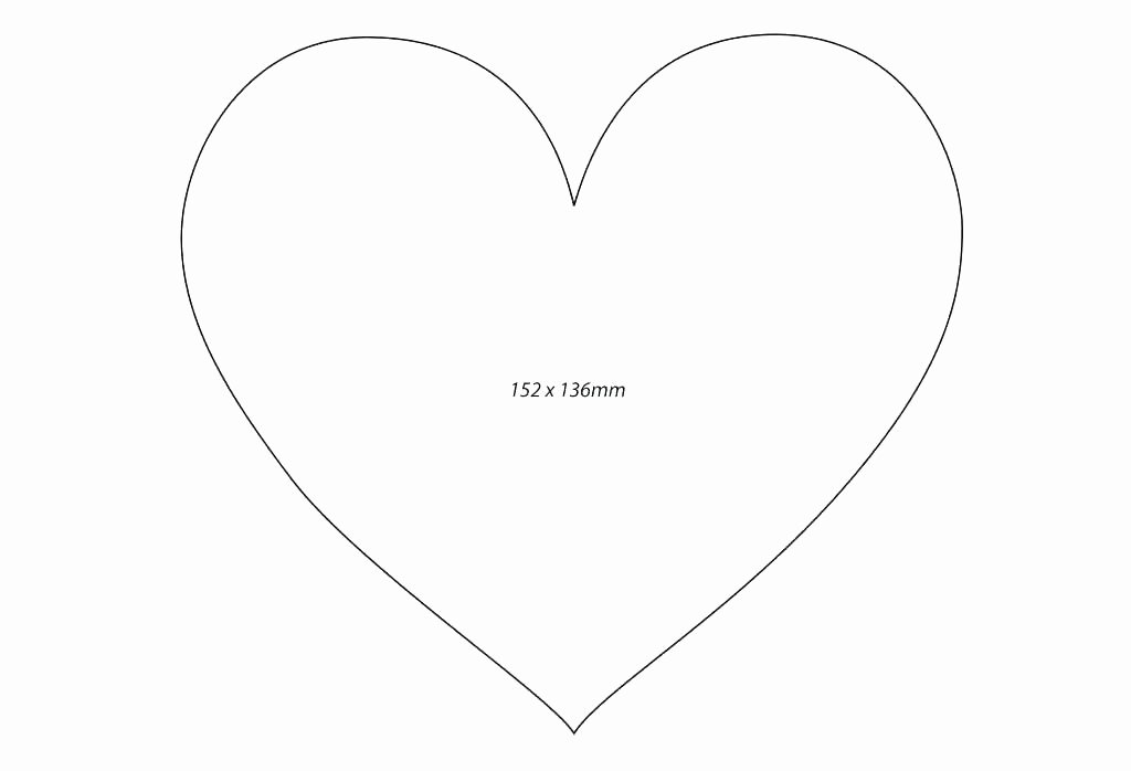 Heart Diagram Blank Best Of Printable Heart Shaped Pattern Printable Template 5 Inch