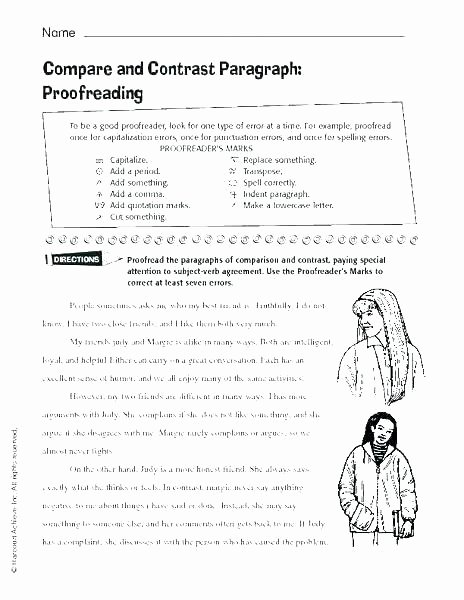 High School Punctuation Worksheets Free Punctuation Worksheets for Grade 6 with Answers 4