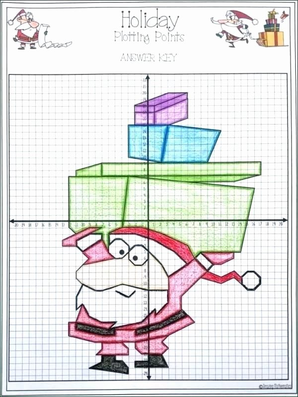 Holiday Coordinate Graphing Free Printable Christmas Graphing Worksheets