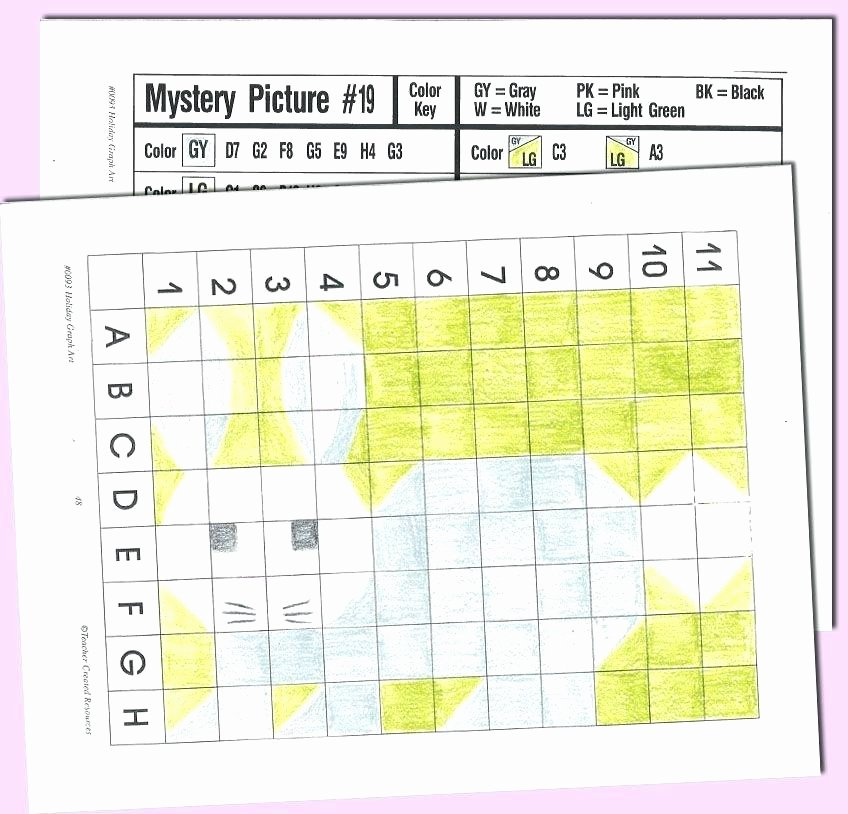 Holiday Coordinate Graphing Pictures Best Of Coordinate Grid Worksheets Middle School Plane Plotting