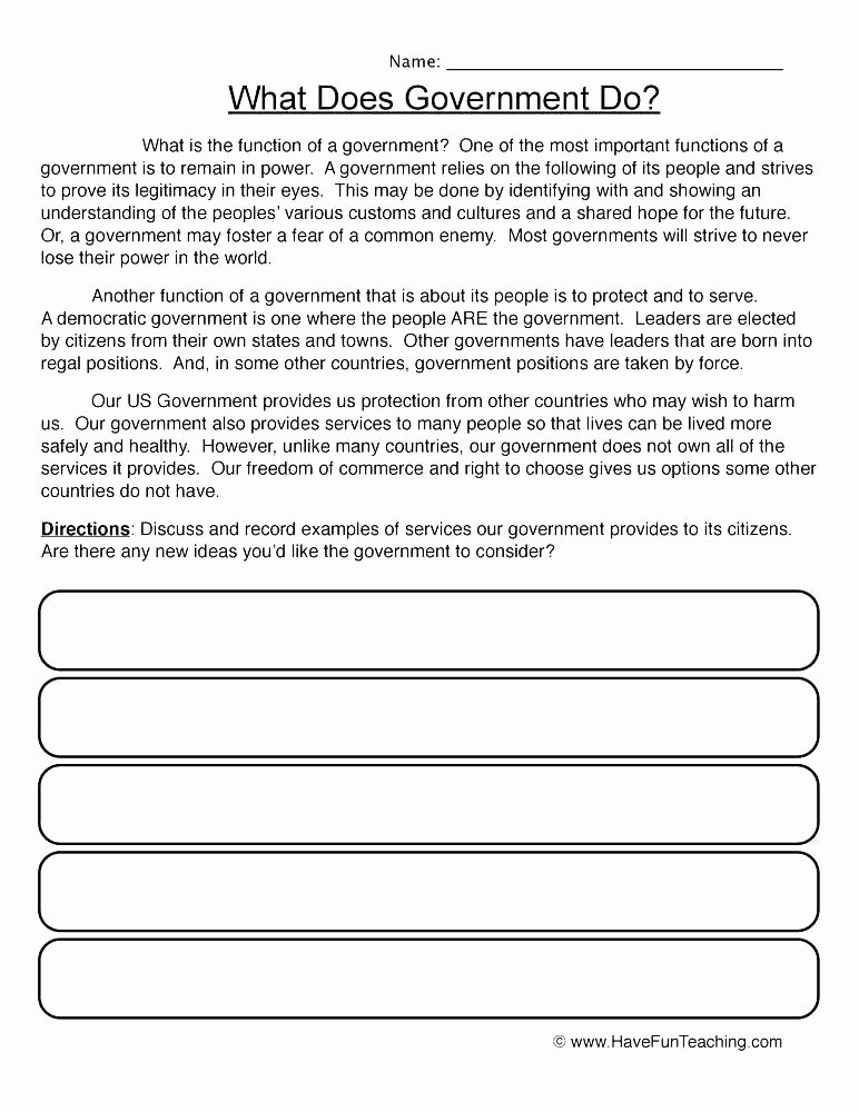 Home Economics Worksheets Free Economics Worksheets