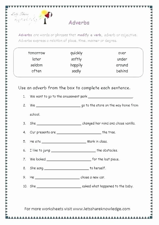 Homographs Worksheet 3rd Grade Grade 9 Grammar Worksheets Ninth Cbse English with Answer Key