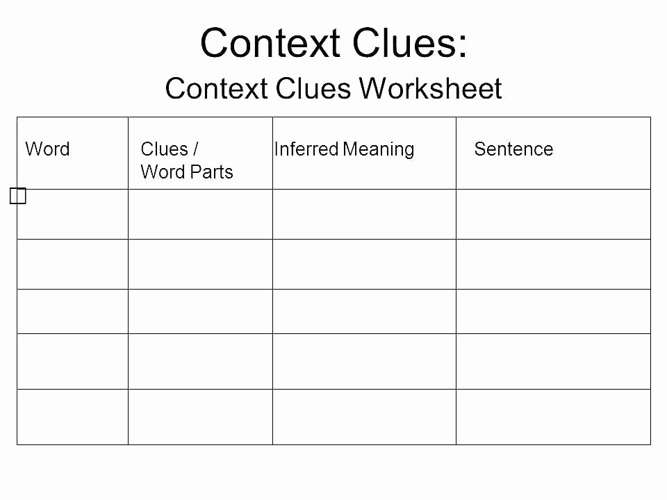 Homographs Worksheets Pdf Context Clues Worksheets 650 488 Homographs and Context
