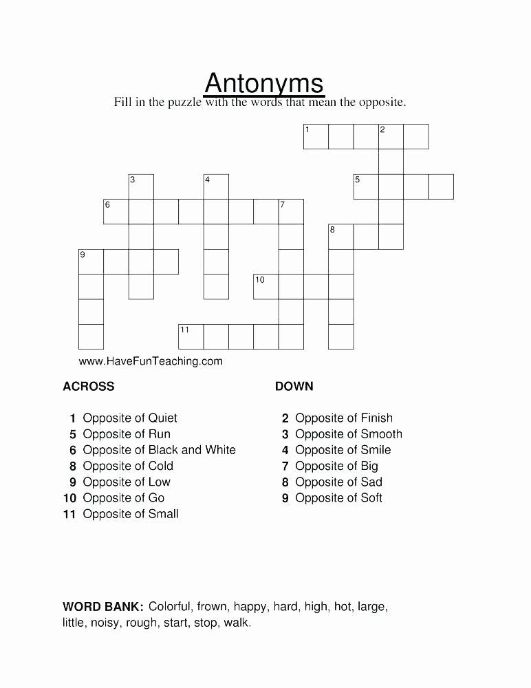 Homonyms Worksheet Pdf Antonyms Worksheets for Grade 3 Page Page Antonyms Worksheet