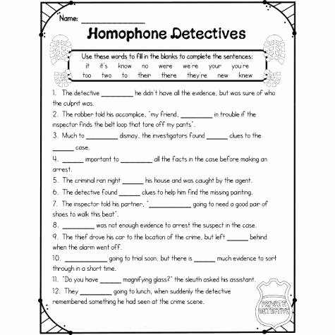 Homonyms Worksheet Pdf there Worksheet Homophones Worksheets their they Re S
