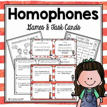 Homophones Anchor Chart List Homophones Worksheets & Teaching Resources