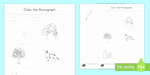 Homophones Worksheet 4th Grade Homograph Worksheets 4th Grade Color the Correct Worksheet