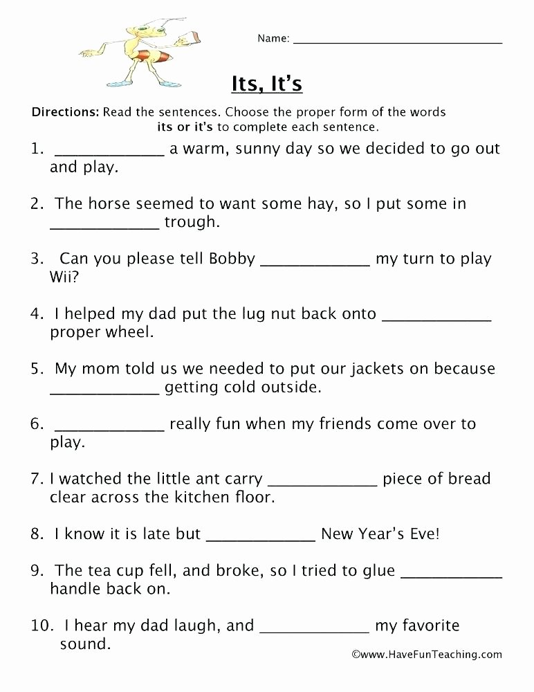 Homophones Worksheet 5th Grade Homophones Review Worksheet Homonyms and Homographs