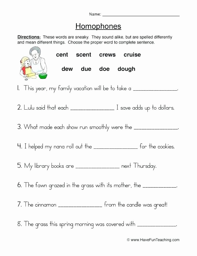 Homophones Worksheet Pdf 9 Best Beginning Cursive Writing Worksheets Free