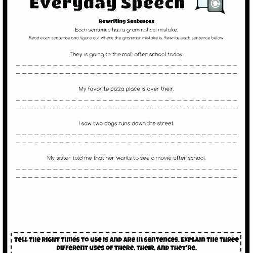 Homophones Worksheet Pdf there and their Worksheets