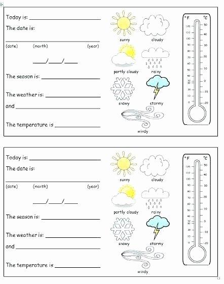 Homophones Worksheets 2nd Grade Free Weather Worksheets for 2nd Grade