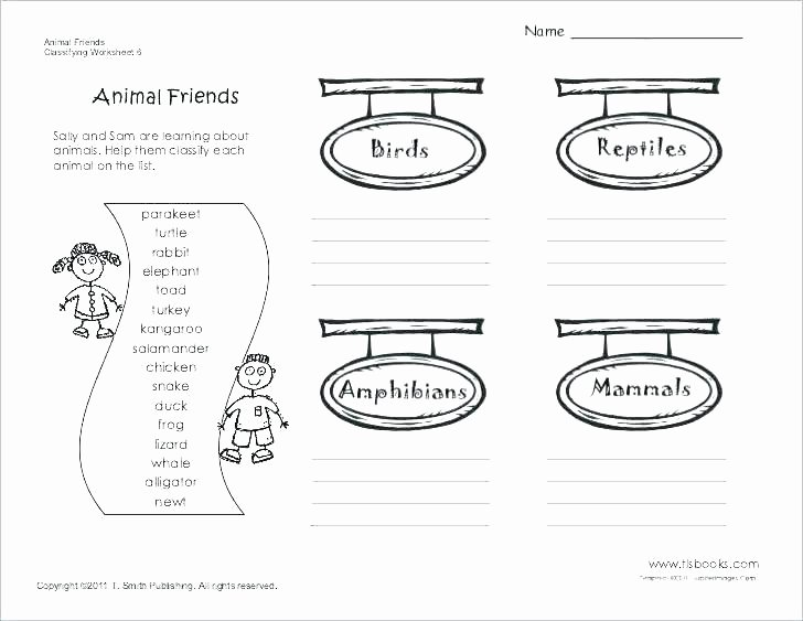 How to Make Friends Worksheet New Amphibian Worksheets for Second Grade
