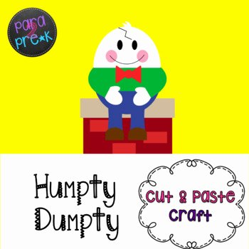 Humpty Dumpty Printable Book Humpty Dumpty Cutting Worksheets & Teaching Resources