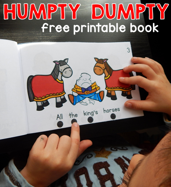 Humpty Dumpty Printable Book Humpty Dumpty Printable 93 Images In Collection Page 1