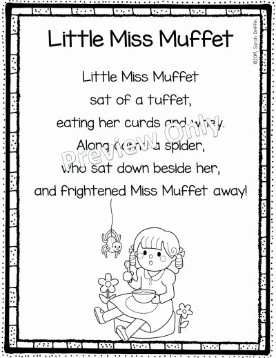 Humpty Dumpty Printable Book My 10 Favorite Nursery Rhymes for Kids