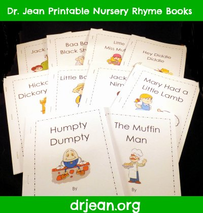 Humpty Dumpty Printable Book Pre K Nursery Rhymes Jack and Jill Pre Kpages
