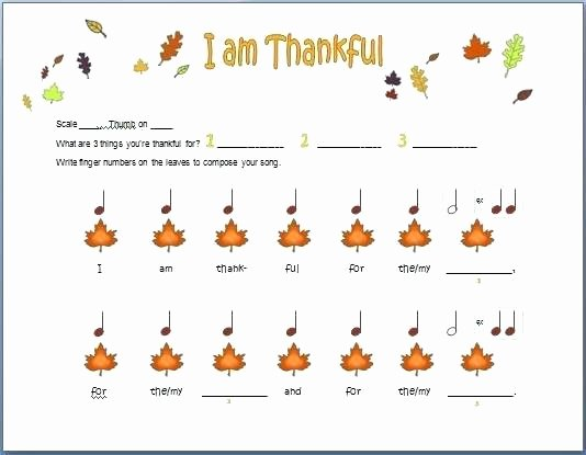 I Am Thankful for Worksheet Beginner Piano Worksheets Beginning I Can Count Rhythm A