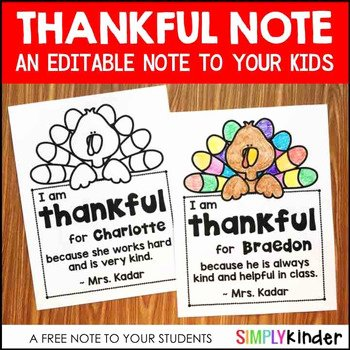 I Am Thankful for Worksheet Free Thanksgiving Worksheets