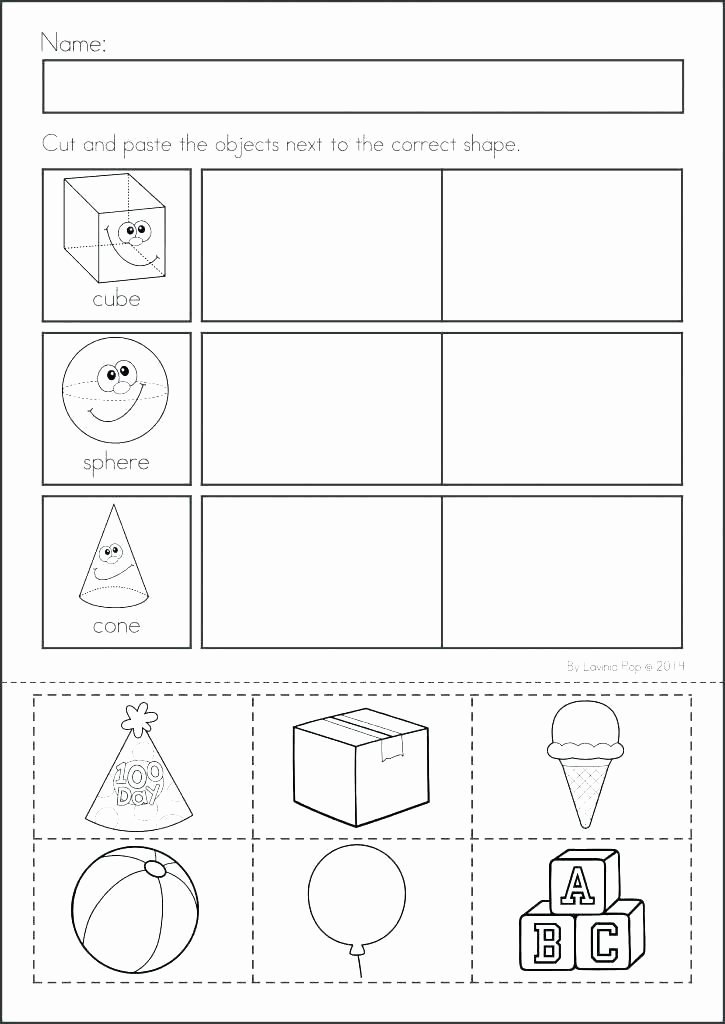 Identify Shapes Worksheet Kindergarten Identifying Shapes Worksheets 2nd Grade