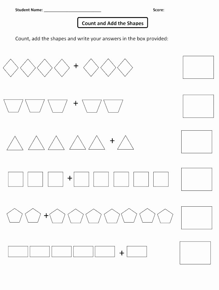 Identify Shapes Worksheet Kindergarten sorting Worksheets for Kindergarten