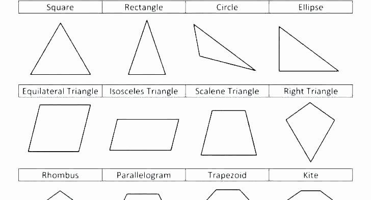 Identify Shapes Worksheet Kindergarten Triangle Worksheets for Kindergarten Geometry Worksheets