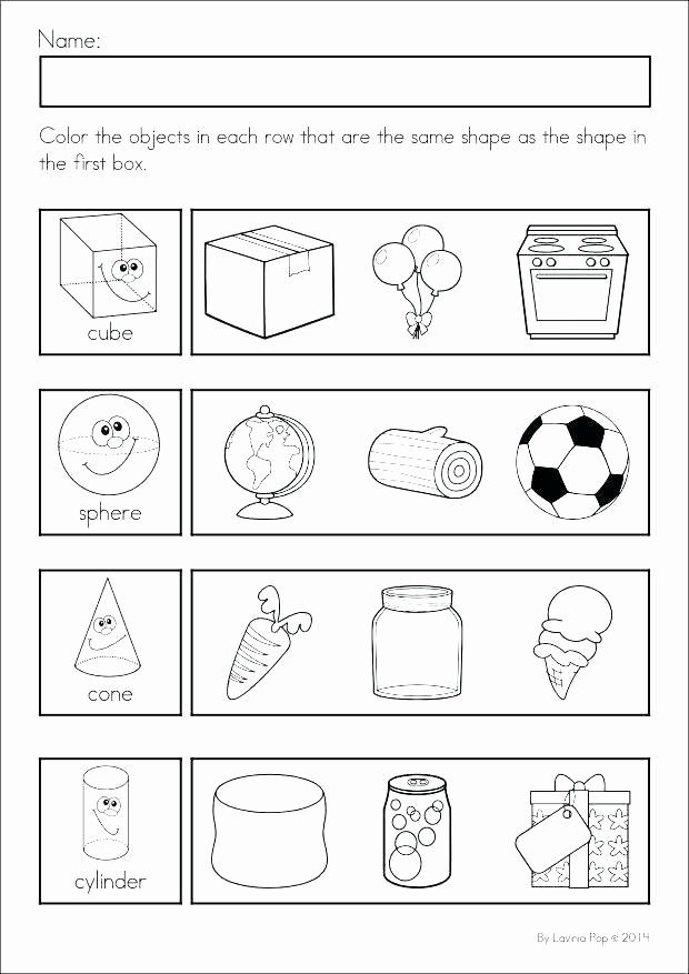 Identify Shapes Worksheet Kindergarten Triangle Worksheets for Kindergarten Identifying Triangles