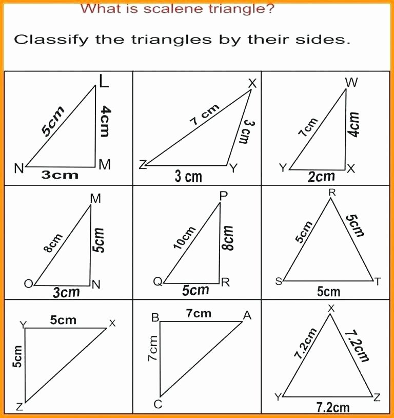 Identify Shapes Worksheets Identifying Triangles – Anumaquinaria