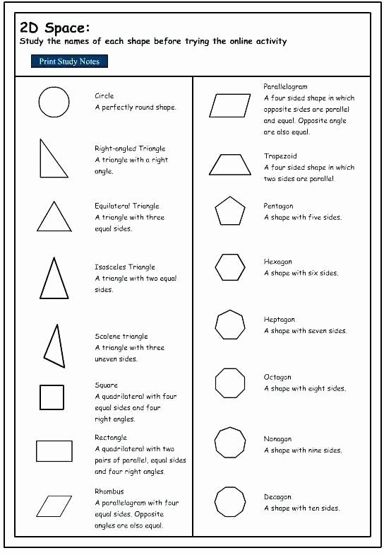 Identify Shapes Worksheets Math Geometry Worksheets 2nd Grade – Buchanansdachurch