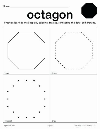 Identify Shapes Worksheets Octagon Shape Printable – Bahamasecoforum