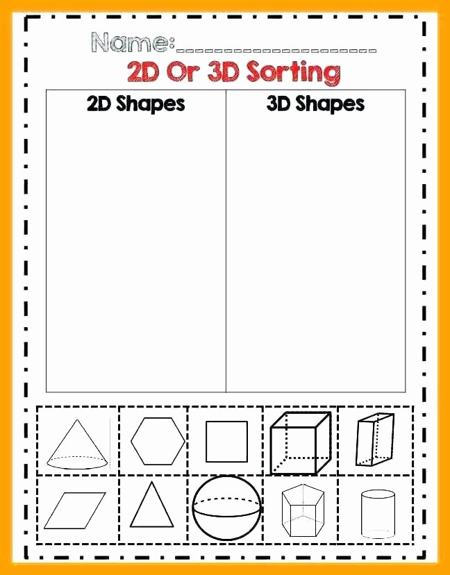 Identifying 2d Shapes Worksheets 2nd Grade 2d Shapes Worksheets