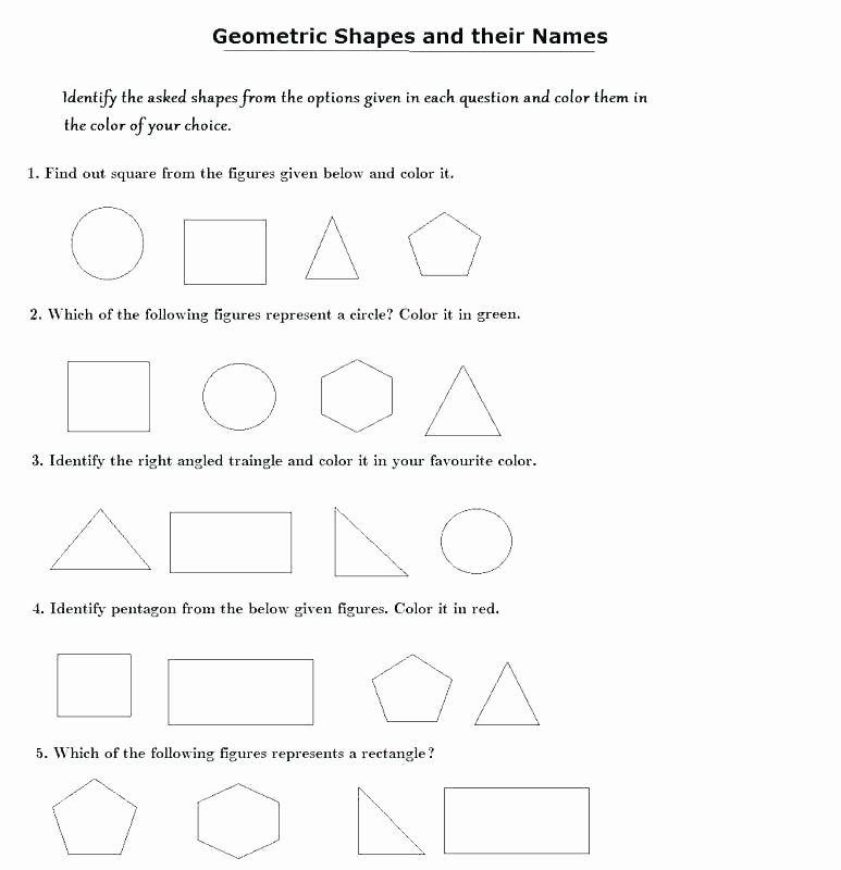 Identifying 2d Shapes Worksheets Grade 2 2d Shapes Worksheets – Onlineoutlet