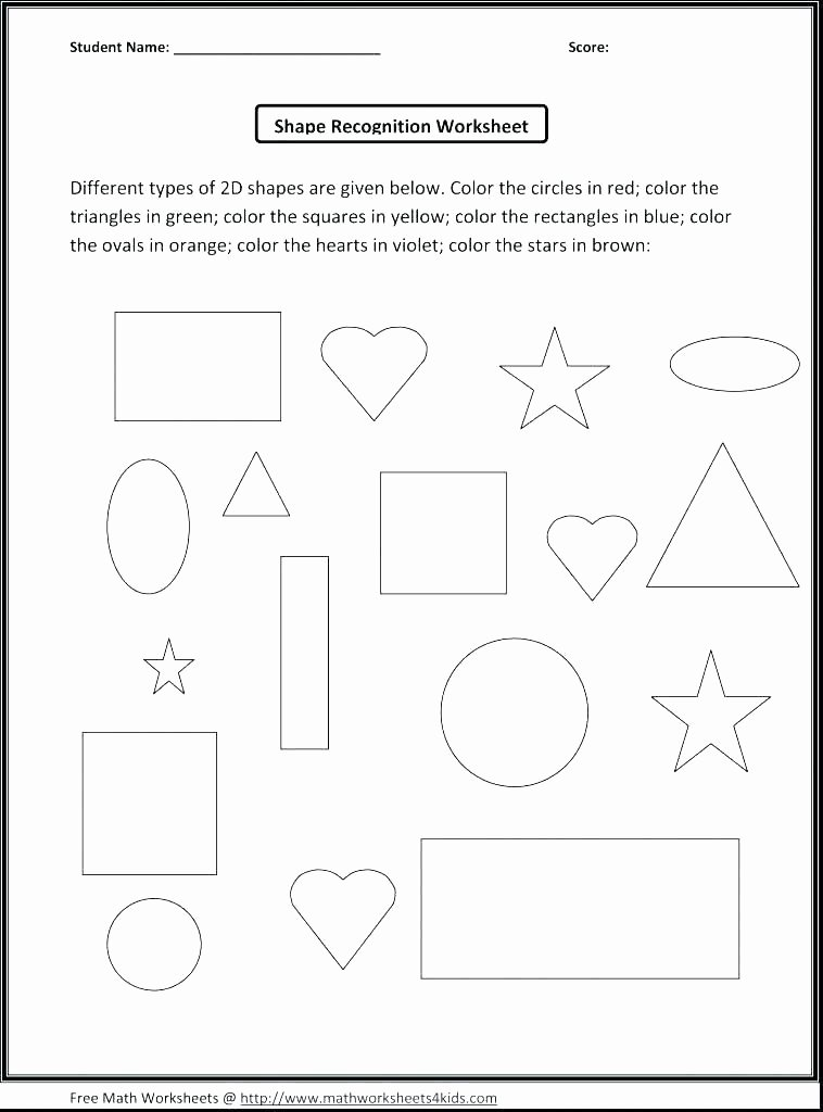 Identifying 2d Shapes Worksheets Two Dimensional Shapes Worksheets Grade Identifying solid