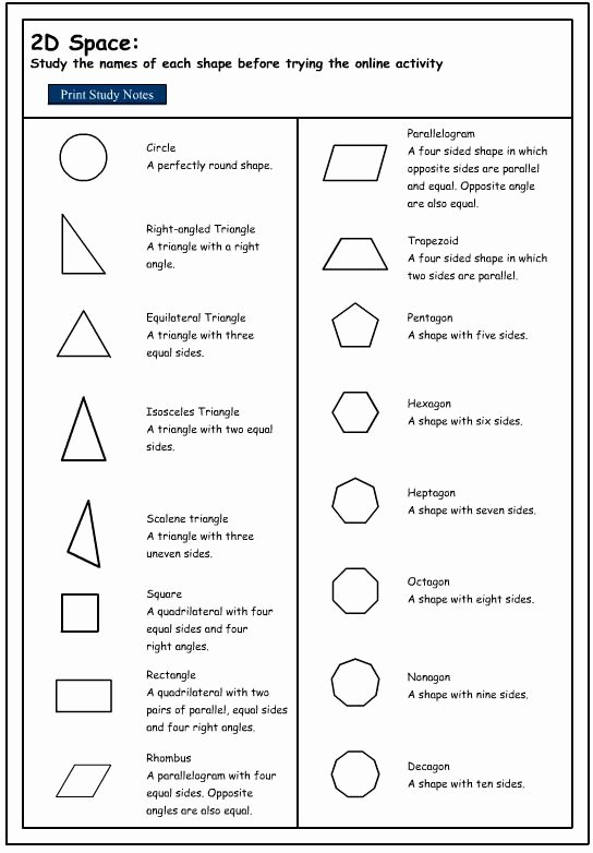 Identifying 2d Shapes Worksheets You Can Learn About 2d Shapes Using This Powerpoint 2d