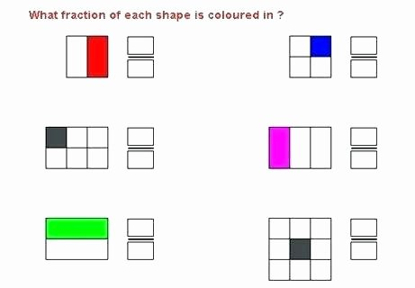 Identifying Fraction Worksheets Fraction Worksheets for Year 2 – Mikkospace