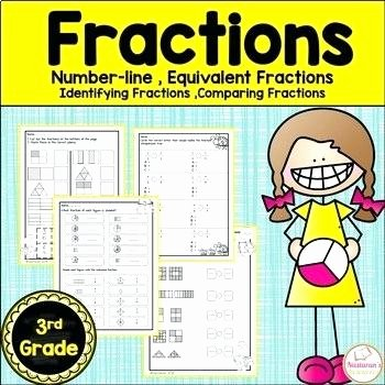 Identifying Fraction Worksheets Grade Fractions Worksheets by Teachers Pay Teachers 3rd