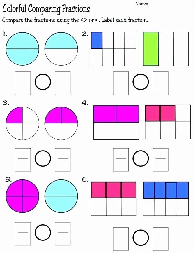 Identifying Fraction Worksheets Grade Mon Core Math Worksheets Best Fraction Grade